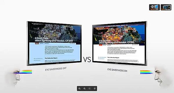 Màn hình máy tính Samsung LS27F390 màn cong